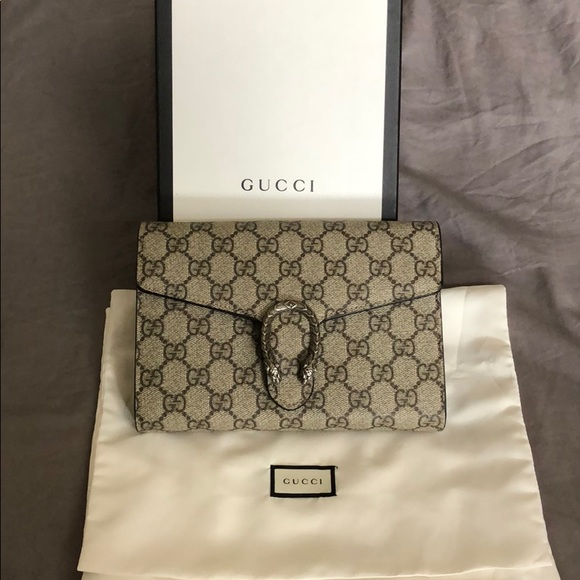 738d8160128f Gucci Bags | Dionysus Chain Wallet | Poshmark